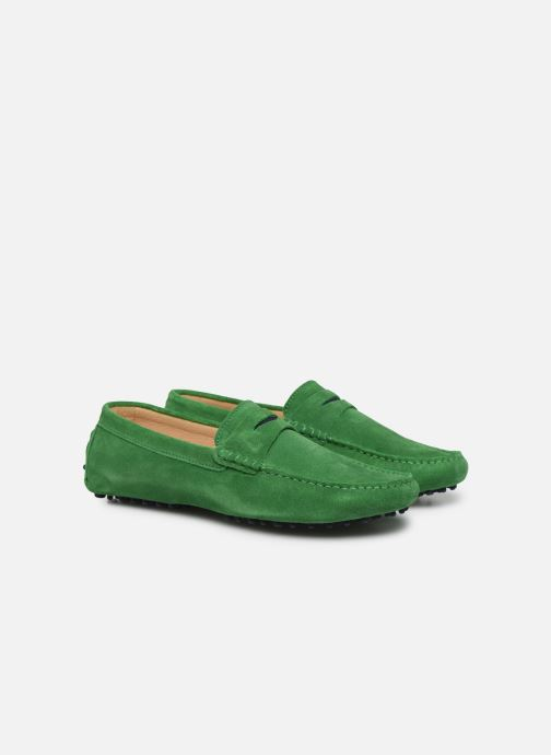 Mocasines Mr SARENZA Suttini Verde vistra trasera